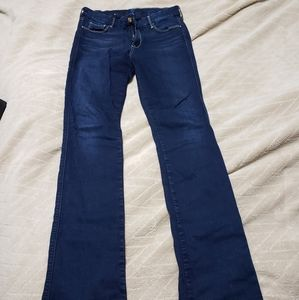 7 for all mankind skinny boot cut jeans